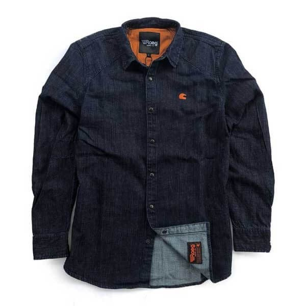 Roeg Bear Premium Denim Blue Shirt