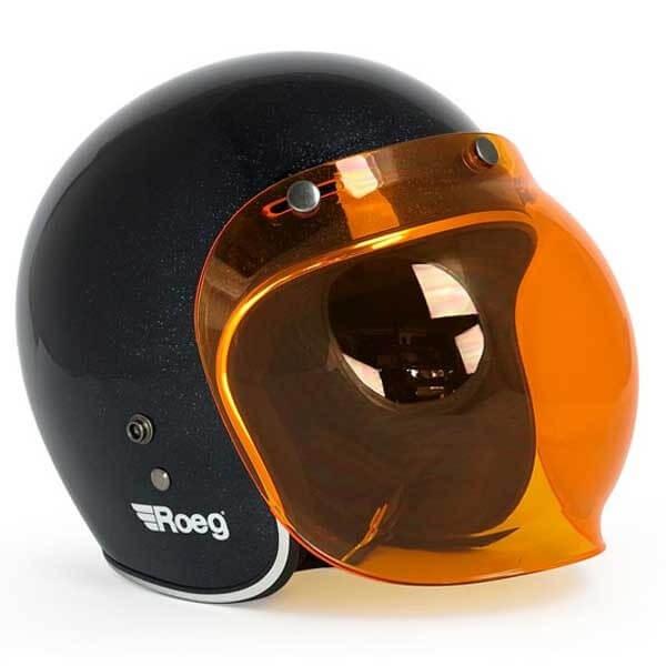 Visor Roeg Moto Bubble Visor Orange