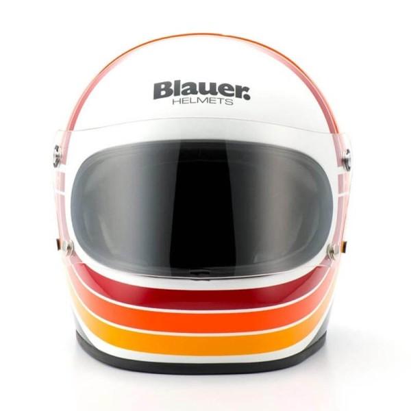 Motorcycle Helmet Vintage BLAUER HT 80s White
