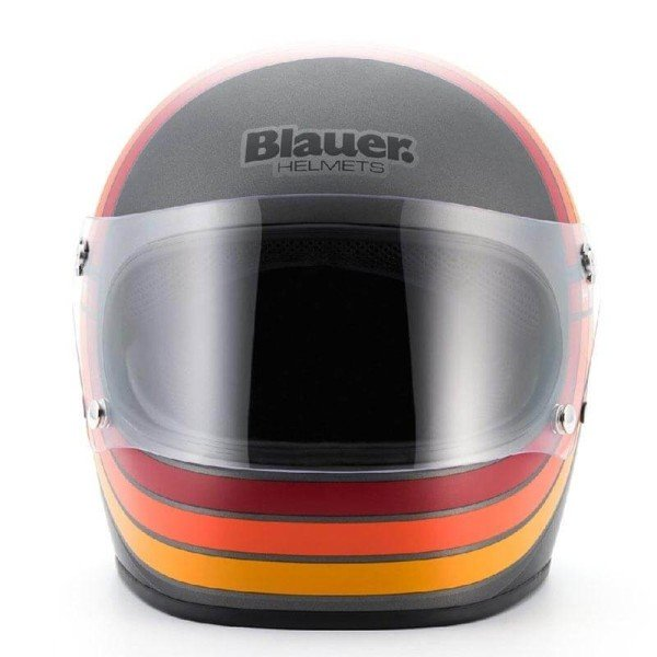Motorcycle Helmet Vintage BLAUER HT 80s Titanium
