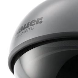 Motorcycle Jet Helmet BLAUER HT Pilot 1.1 Grey Matt