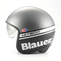 Motorcycle Jet Helmet BLAUER HT Pilot 1.1 Grey Matt ,Jet Helmets