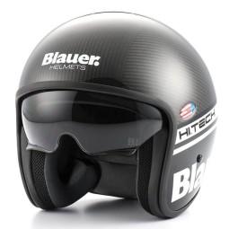 Motorrad Jet Helm BLAUER HT Pilot 1.1 Carbon