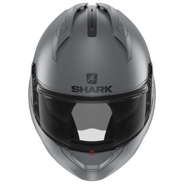 Shark Evo GT modular helmet matt gray