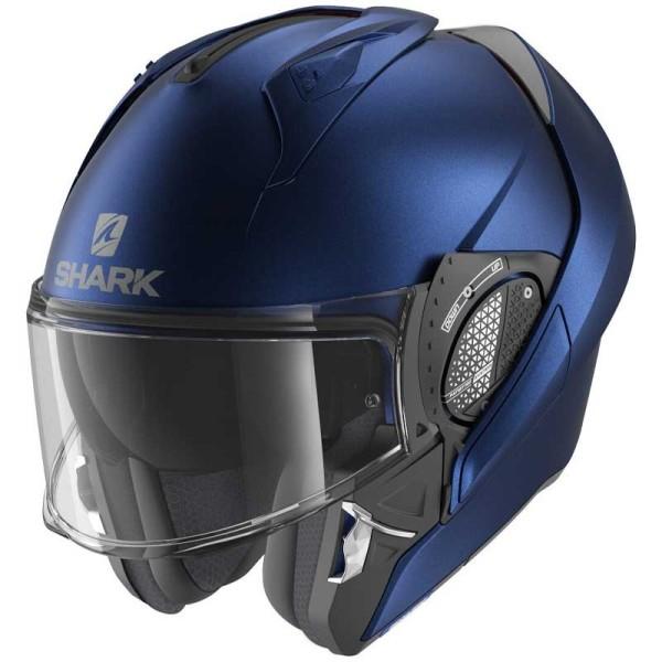 Shark Evo GT modular helmet matt blue