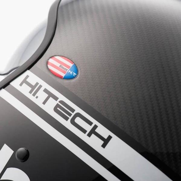 Casque Moto Jet BLAUER HT Pilot 1.1 Carbon