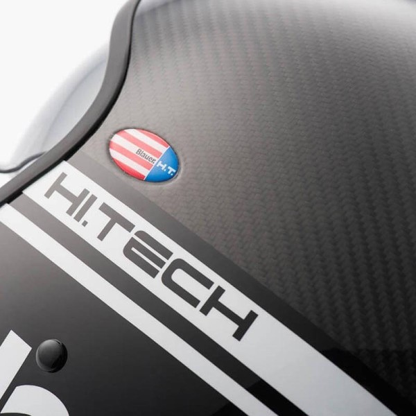 Motorcycle Jet Helmet BLAUER HT Pilot 1.1 Carbon
