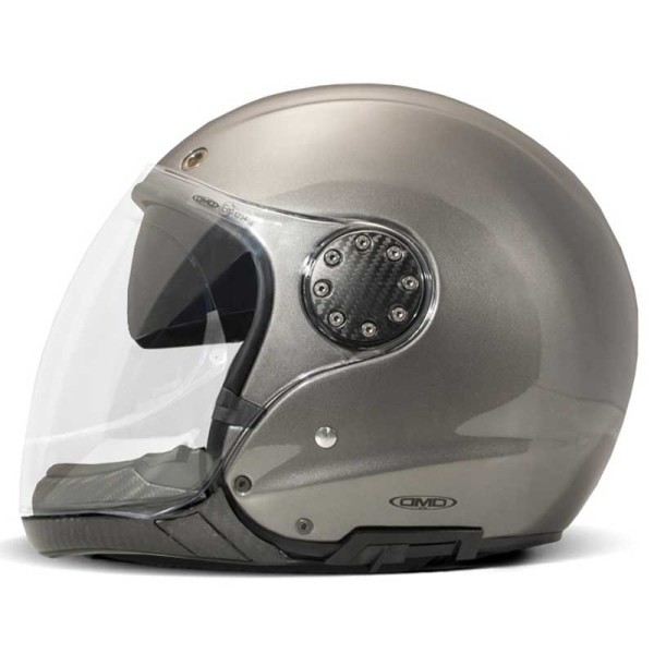 DMD ASR modular helmet metallic gray