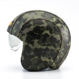 Motorcycle Jet Helmet BLAUER HT Pilot 1.1 Camouflage