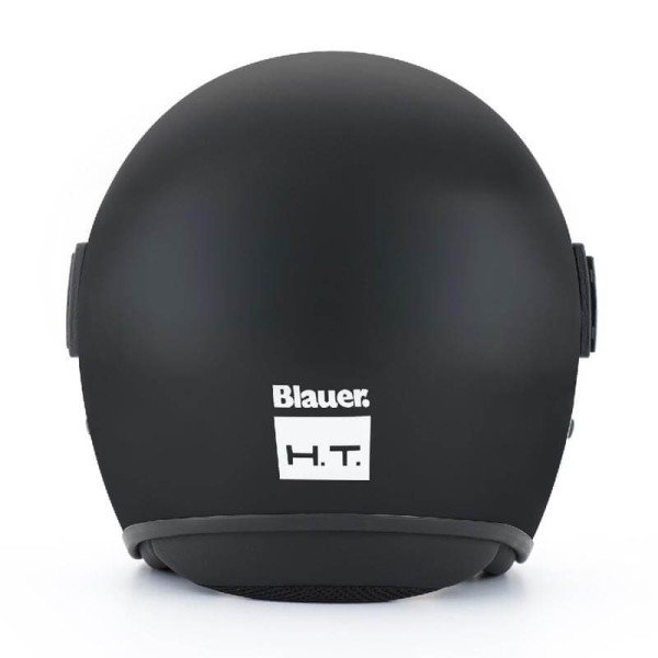 Motorcycle Jet Helmet BLAUER HT POD Monochrome Black Matt