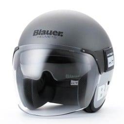 Motorcycle Jet Helmet BLAUER HT POD Titanium Gray ,Jet Helmets