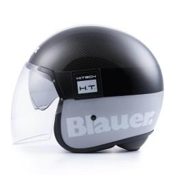 Motorrad Jet Helm BLAUER HT POD Carbon