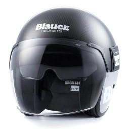 Casque Moto Jet BLAUER HT POD Carbon