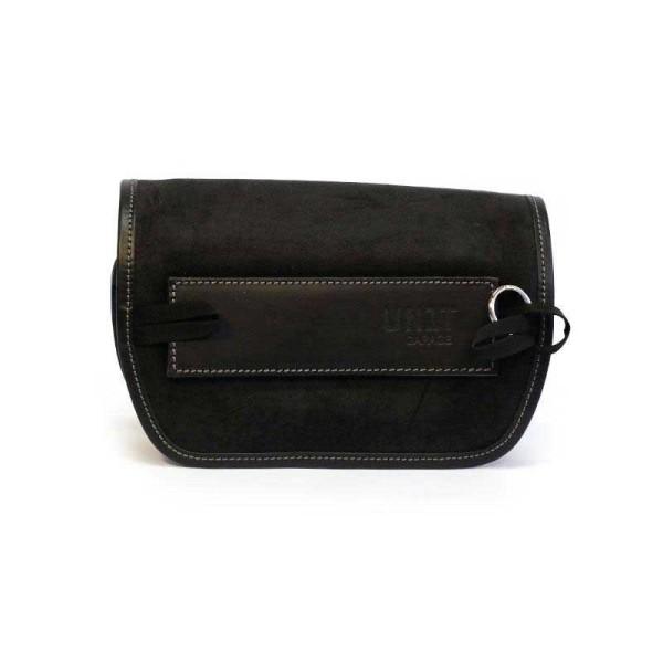 Unit Garage Sahara black motorcycle handlebar bag