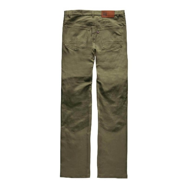 Motorcycle Pants BLAUER HT Kevin Canvas Green