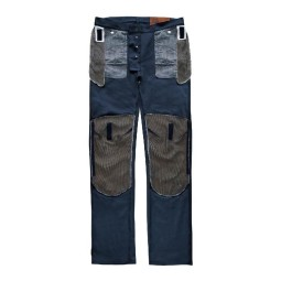 Motorcycle Pants BLAUER HT Kevin Canvas Blue ,Motorcycle Pants