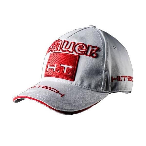 Cappellino Moto BLAUER HT\nWhite Red , Cuffie / Cappelli