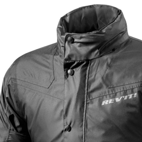 Motorcycle Rain Jacket REVIT Nitric 2 H2O Black