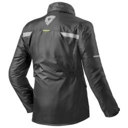 Motorcycle Rain Jacket REVIT Nitric 2 H2O Black ,Functional Motorcycle Gear
