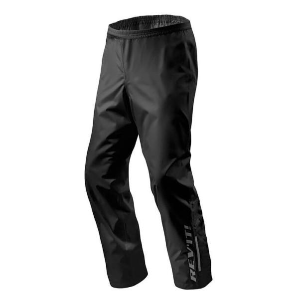 Pantaloni Moto Antipioggia REVIT Acid H2O Nero, Abbigliamento Funzionale Moto
