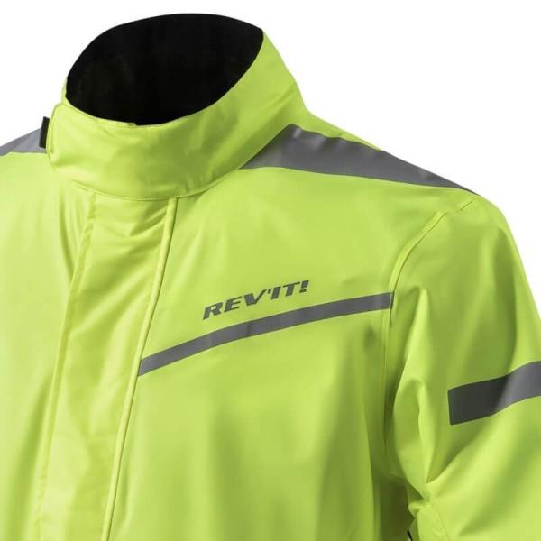 Motorcycle Rain Suit REVIT Pacific 2 H2O Neon Yellow