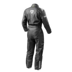 Motorrad Regenanzug REVIT Pacific 2 H2O Schwarz ,Funktions Motorrad Bekleidung