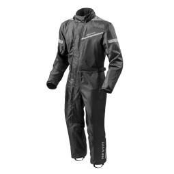 Motorcycle Rain Suit REVIT Pacific 2 H2O Black ,Functional Motorcycle Gear