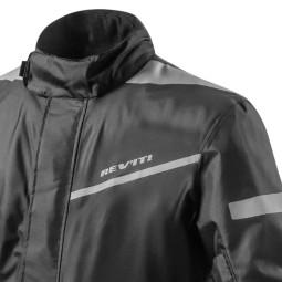Tuta Moto Antipioggia Intera REVIT Pacific 2 H2O Nero, Abbigliamento Funzionale Moto