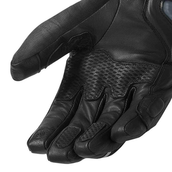 Motorcycle Gloves Leather REVIT Taurus GTX