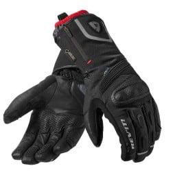 Motorcycle Gloves Leather REVIT Taurus GTX, Winter gloves