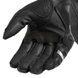 Motorradhandschuhe Leder REVIT Cayenne Pro Schwarz, Motorradhandschuhe