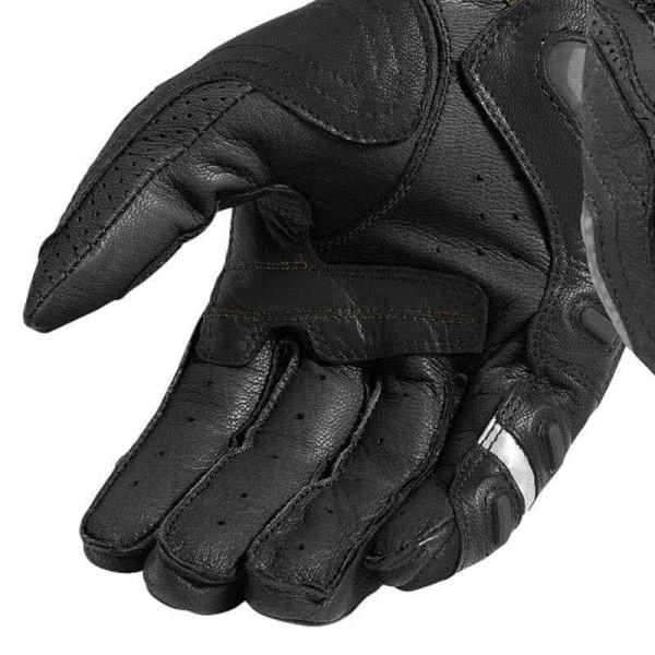 Guantes de cuero moto REVIT Cayenne Pro Negro