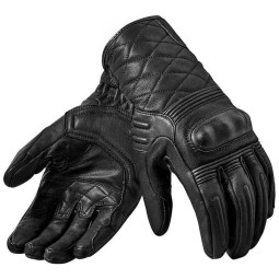 Gants moto en cuir REVIT Monster 2 Noir