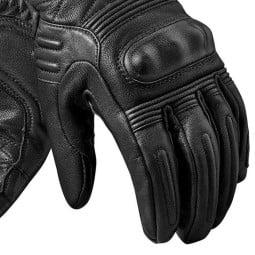 Motorradhandschuhe Leder REVIT Monster 2 Schwarz ,Motorrad Lederhandschuhe