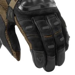 Motorcycle Gloves Leather REVIT Cayenne Pro Black Sand