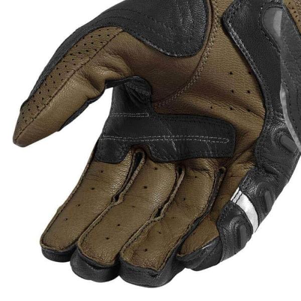 Gants moto en cuir REVIT Cayenne Pro Noir Sable