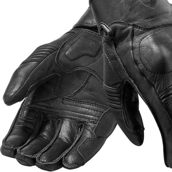 Motorcycle Gloves Leather REVIT Palmer Black