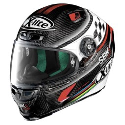 Casco Moto Integrale X-lite X-803 Ultra Carbon SBK