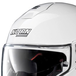 Motorcycle Helmet Modular NOLAN N100-5 Classic N-COM Metal White ,Modular Helmets