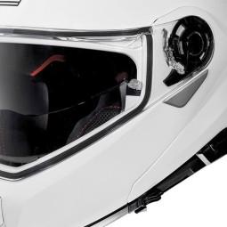 Motorrad Helm Modular NOLAN N100-5 Classic N-COM Metal White