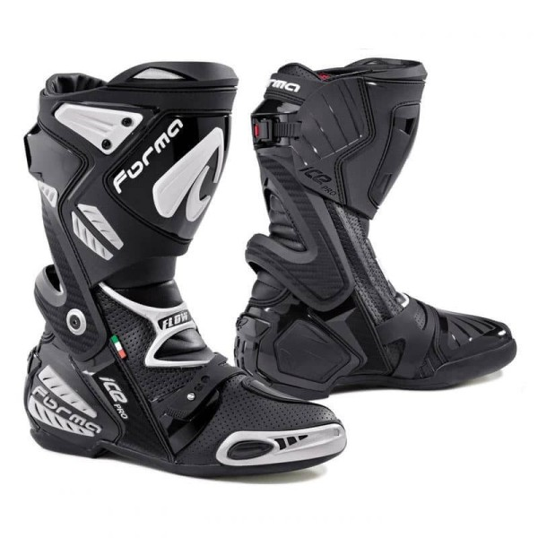 Motorcycle Boot FORMA Ice Pro Flow Black ,Motorcycle Racing Boots