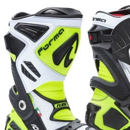 Motorcycle Boot FORMA Ice Pro Flow White ,Motorcycle Racing Boots
