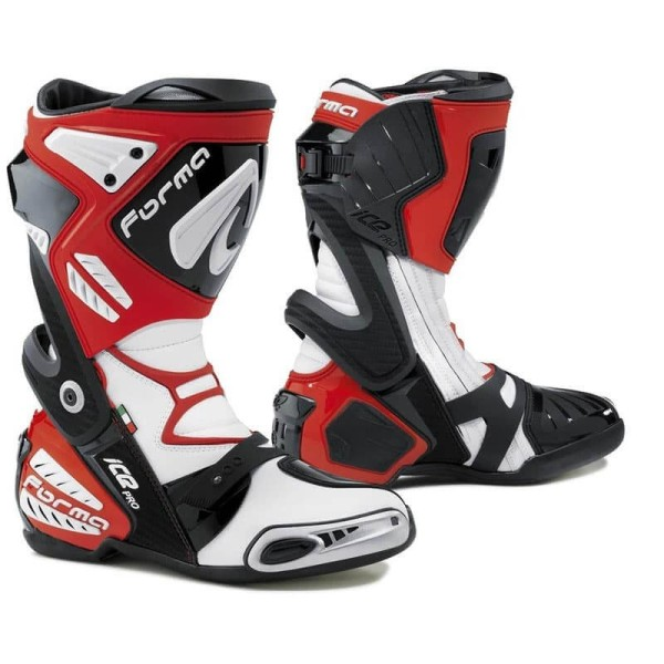 Motorcycle Boot FORMA Ice Pro Red ,Motorcycle Racing Boots