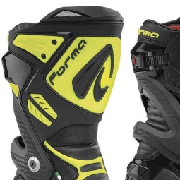 Motorcycle Boot FORMA Ice Pro Black Yellow