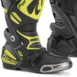 Motorcycle Boot FORMA Ice Pro Black Yellow ,Motorcycle Racing Boots