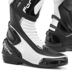 Motorcycle Boot FORMA Freccia White