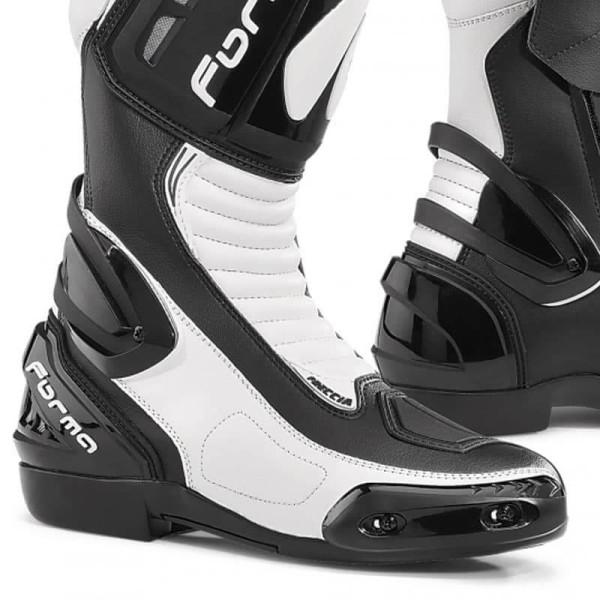 Motorcycle Boot FORMA Freccia White