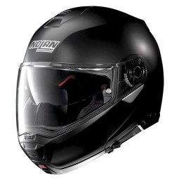 Motorrad Helm Modular NOLAN N100-5 Classic N-COM Flat Black