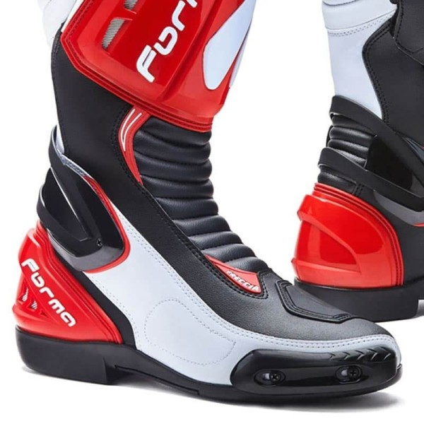 Motorcycle Boot FORMA Freccia Red