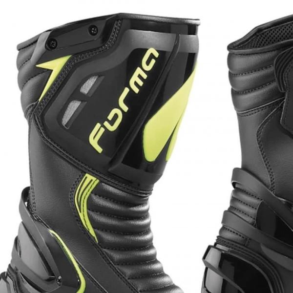 Motorcycle Boot FORMA Freccia Black Yellow